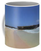 Large Rock Formation Just Off The Beach At Boca Keto Coffee Mug