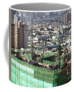 Large Scale Construction Site Coffee Mug by Yali Shi