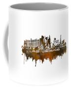 Las Vegas Skyline City Brown Coffee Mug