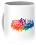 Las Vegas Skyline City Color Coffee Mug