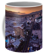 Las Vegas Strip Aloft Coffee Mug