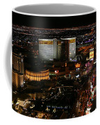 Las Vegas Strip Coffee Mug by Kristin Elmquist