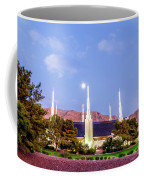 Las Vegas Temple Moon Coffee Mug