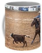 Lassoing The Calf Coffee Mug