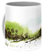 Last Green Of The Season Coffee Mug