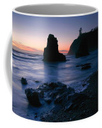 Last Light At Ruby Beach Coffee Mug