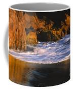 Last Light On Harris Beach Coffee Mug