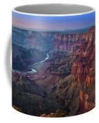 Last Light On The Canyon Coffee Mug