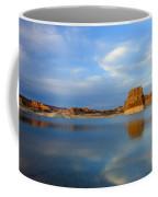 Last Light Over Lake Powell Coffee Mug