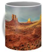 Last Light Over Monument Valley Coffee Mug
