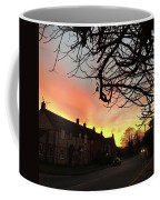 Last Night's Sunset From Our Cottage Coffee Mug