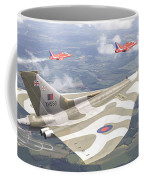 Last Royal Escort - Avro Vulcan Coffee Mug