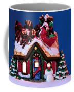 Last Stop For Santa Coffee Mug