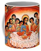Last Supper Angels Coffee Mug