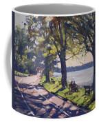 Late Afternoon At Niawanda Park Coffee Mug