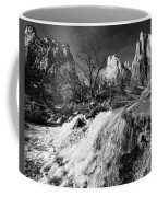 Late Afternoon At The Court Of The Patriarchs - Bw Coffee Mug
