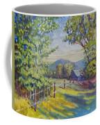 Late Afternoon Shadows Coffee Mug