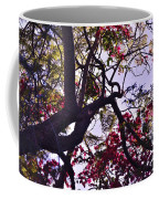 Late Afternoon Tree Silhouette With Bougainvilleas IIi Coffee Mug