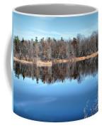 Late Autumn Reflections Coffee Mug