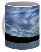 Late Day Clouds Over Mountainss Coffee Mug