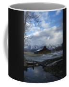 Late Snow On South Moulton Barn Coffee Mug
