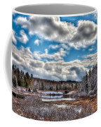 Late Winter At The Tobie Trail Bridge Coffee Mug