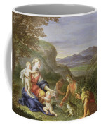 Latona And The Frogs Coffee Mug