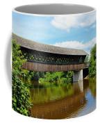 Lattice Covered Bridge Coffee Mug
