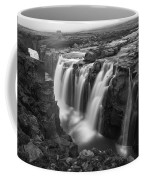 Laugafell Mountain Lodge Waterfalls 3155 Coffee Mug