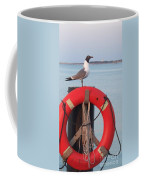 Laughing Gull At Lewes Coffee Mug