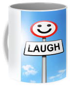 Laughter Concept. Coffee Mug