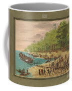 Launching Of The Griffin.  July 1679 Coffee Mug
