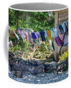 Laundry Drying In The Wind Coffee Mug
