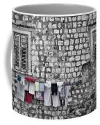Laundry Line - Dubrovnik Croatia #3 Coffee Mug