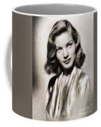 Lauren Bacall, Vintage Actress Coffee Mug