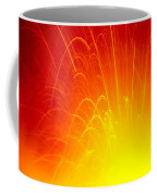 Lava Explodes Into Ocean Coffee Mug