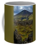 Lava Field And Mountain - Iceland Coffee Mug