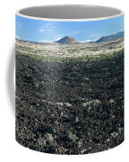 Lava Flow And Schonchin Butte, Lava Beds Nm, California, Usa Coffee Mug