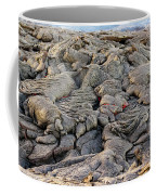 Lava Peeking At Us Coffee Mug