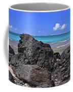 Lava Rocks At Haena Beach Coffee Mug