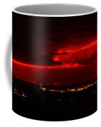 Lava Skies Over Hilo Bay Coffee Mug