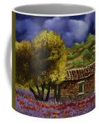 Lavanda Sotto Il Cielo Blu Coffee Mug