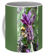 Lavender And Busy Bee. Coffee Mug