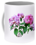 Lavender And Rose Hydrangeas Coffee Mug