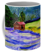 Lavender Barn Coffee Mug
