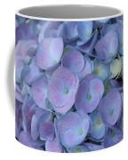 Lavender Blue Hydrangea Coffee Mug