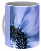 Lavender Blue Silk Coffee Mug