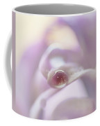 Lavender Blue Silk Coffee Mug