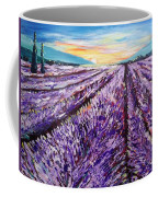 Lavender Fields Coffee Mug
