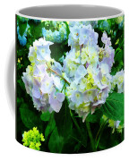 Lavender Hydrangea In Garden Coffee Mug